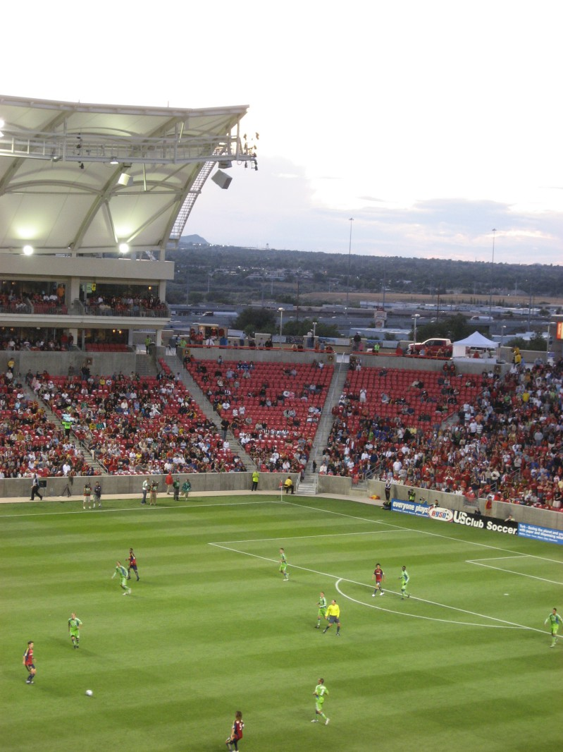 Real Salt Lake MLS Soccer Game