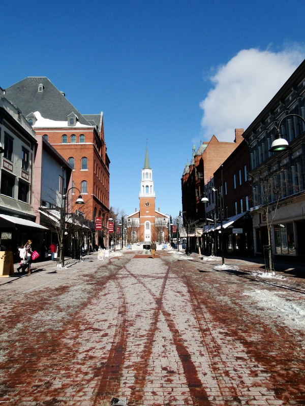 Burlington Vermont Downtown