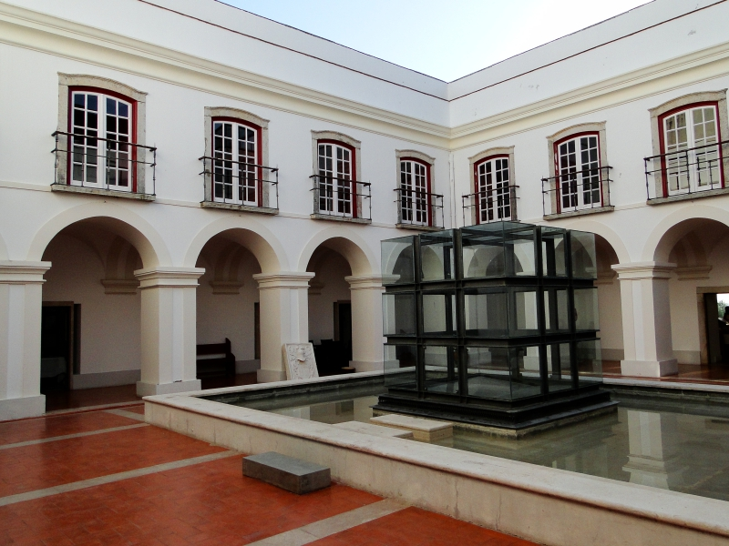 Courtyard in Pousada