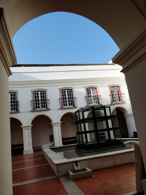 Hotel Courtyard in Portugal