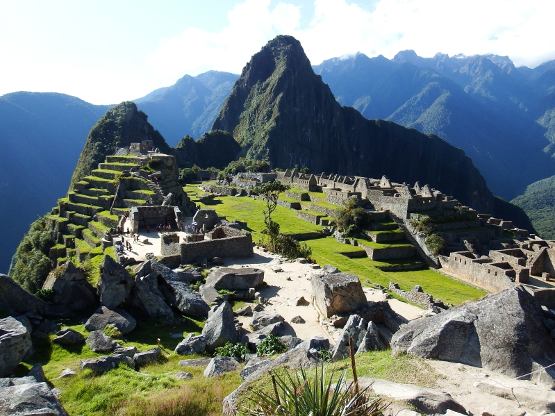 Machu Picchu in the Andes of Peru