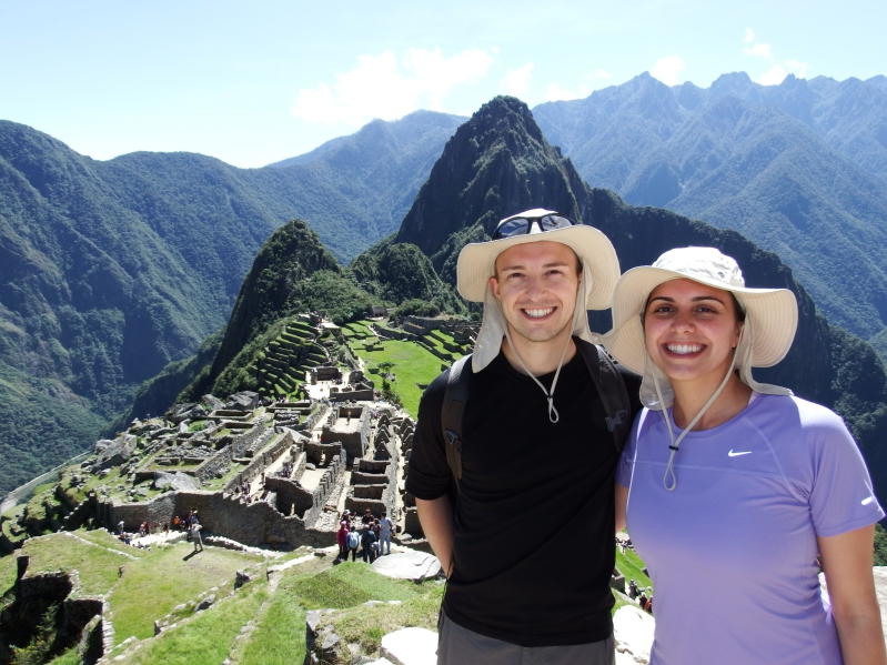 Hiking at Machu Picchu