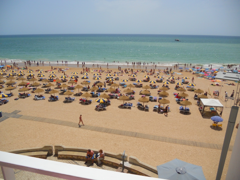 The Beach in Albufeira