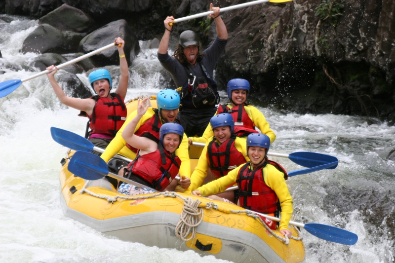 White Water Rafting On Tully River