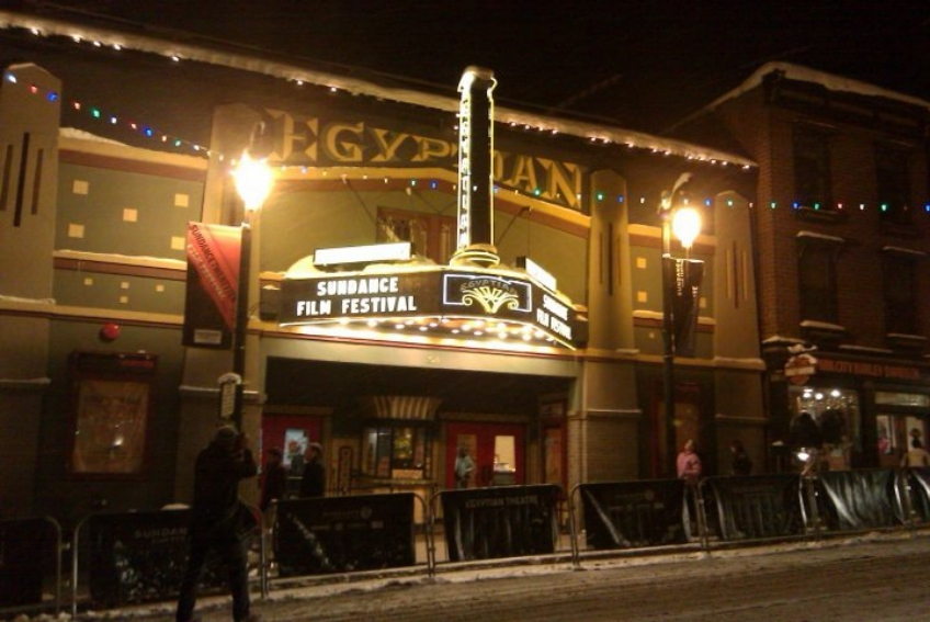 Eqyptian Theater during Sundance Film Festival in Park City