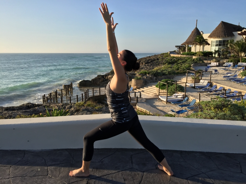 Yoga at Zenserenity Tulum Mexico