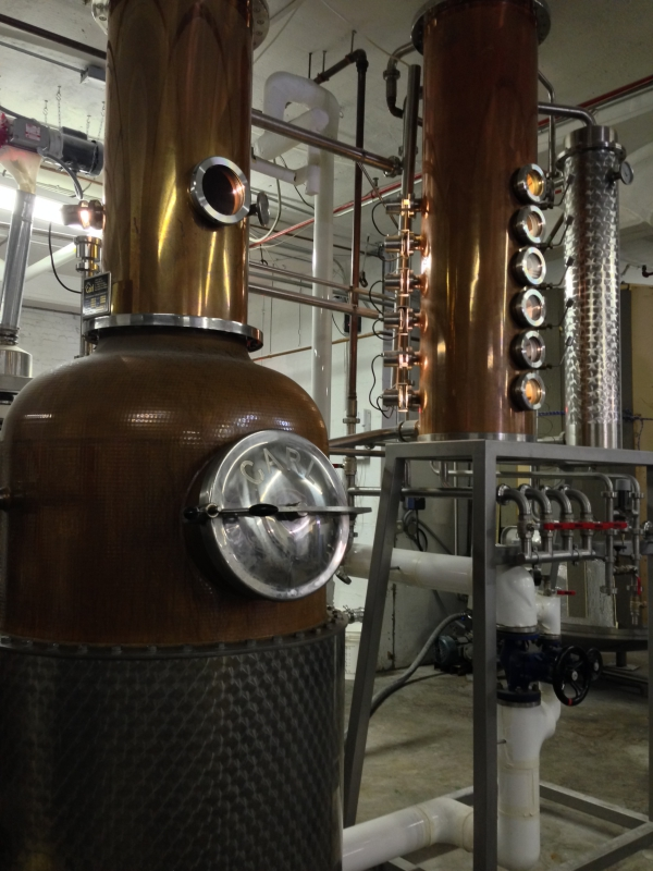 Van Brunt Stillhouse Distillery Red Hook New York City