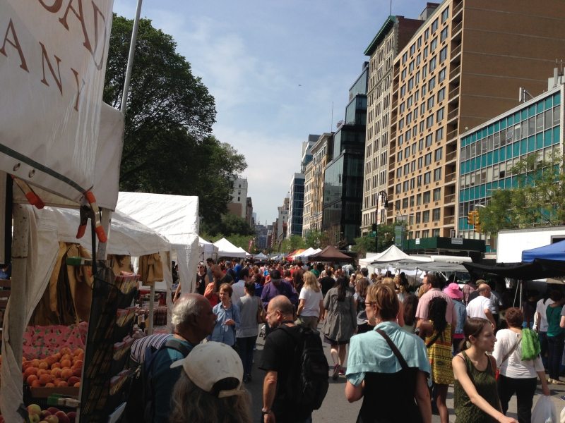 Union Square Farmers Market NYC
