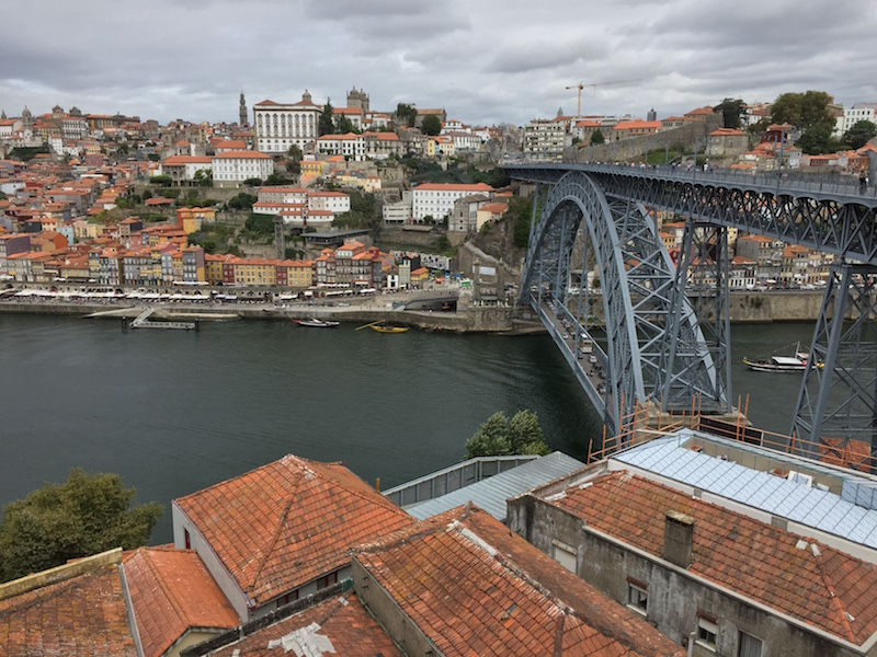 The Dom Luis I Bridge in Porto, Portugal