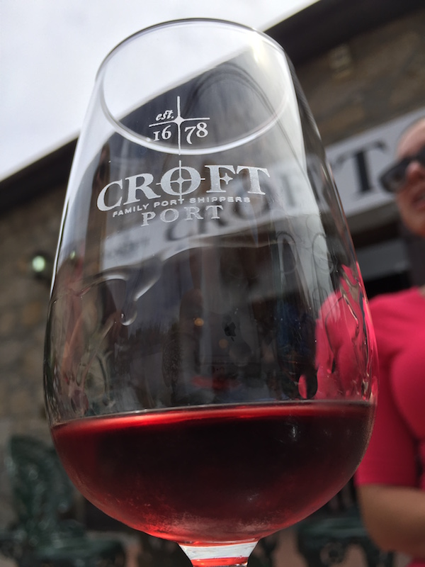 Croft Port wine tasting in Porto, Portugal