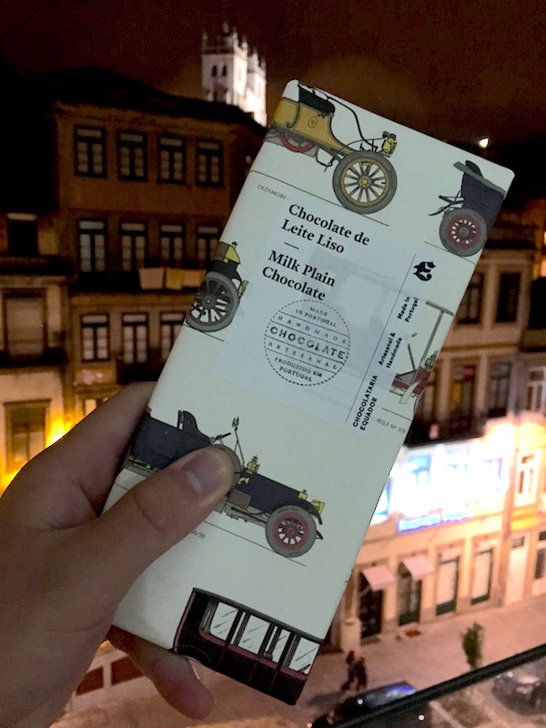 Chocolate from Chocolataria Equador in Porto, Portugal