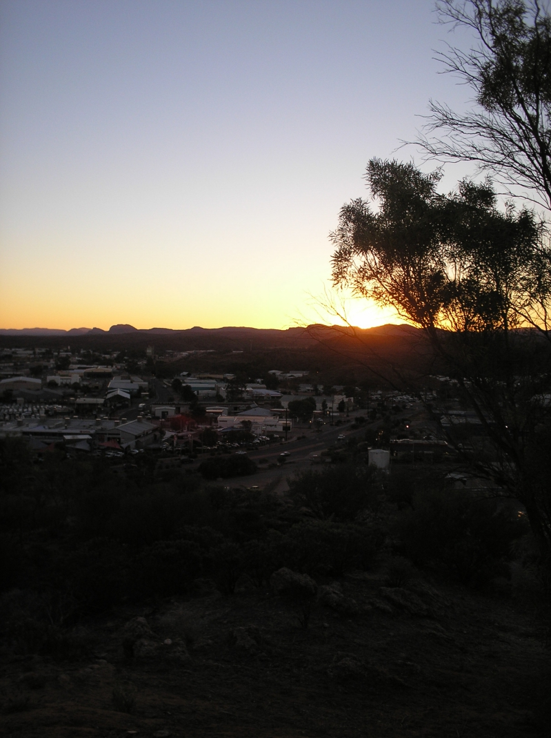 Lookout Over Alice Springs From Anzac Hill