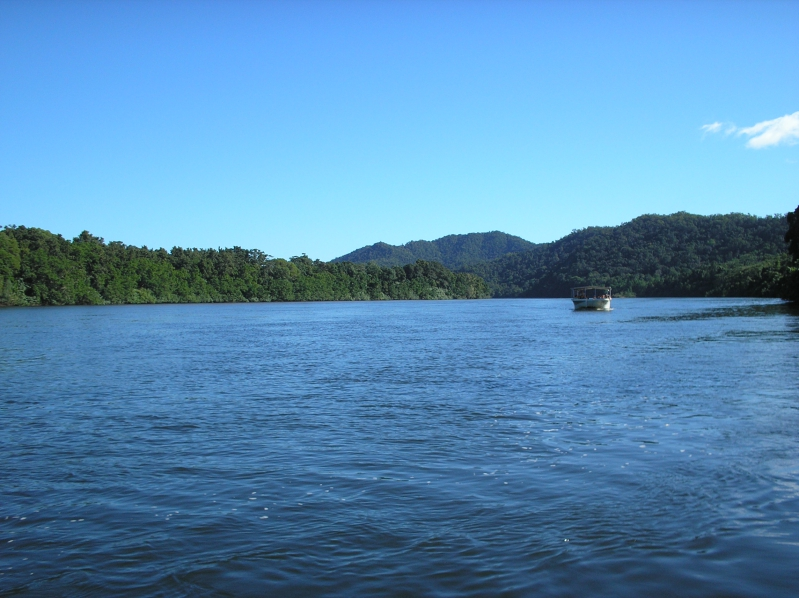 Boat Cruise Outside Of Cairns Australia