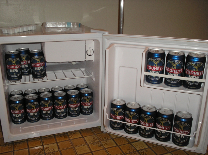 Fridge Full Of Tooheys Beer