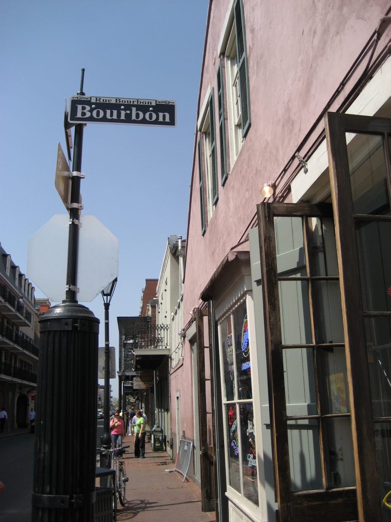 Bourbon St New Orleans