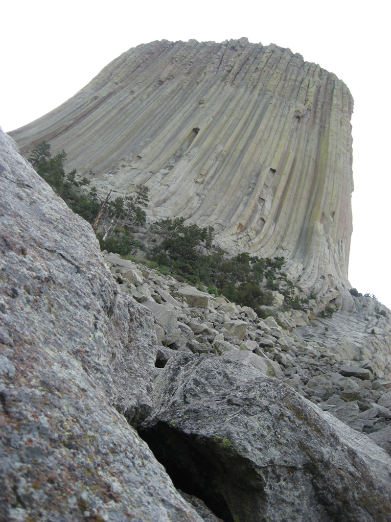 Up Close to Devils Tower National Monument