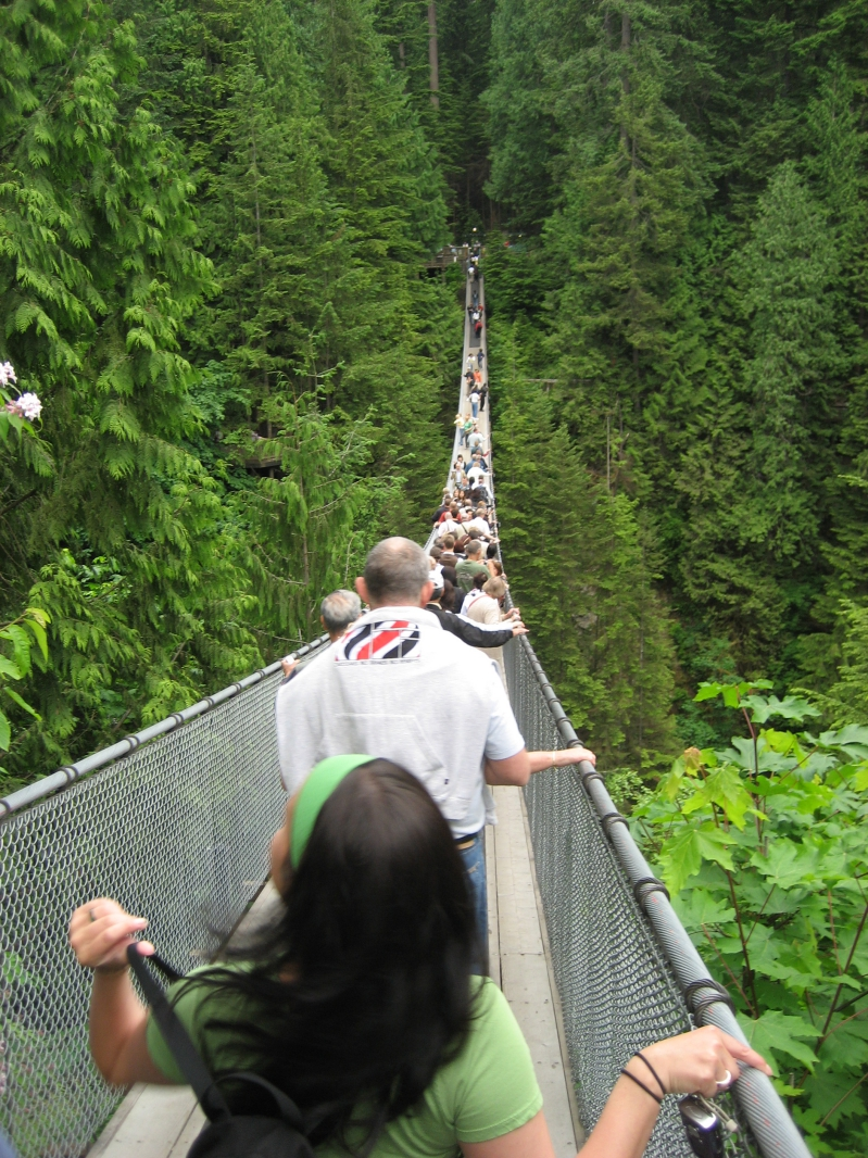 Capilano Suspension Bridge Vancouver BC