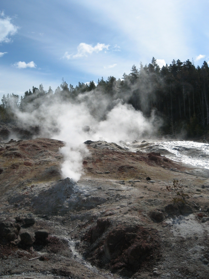 Steam Vent at Yellowstone National Park