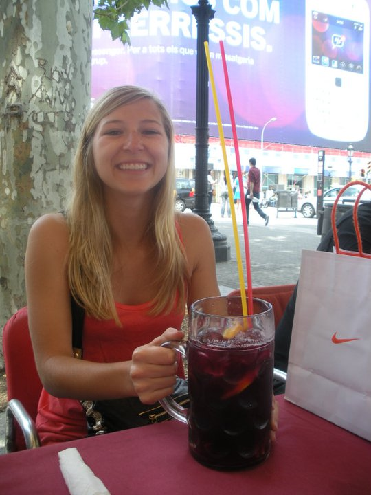 Sangria in Barcelona Spain