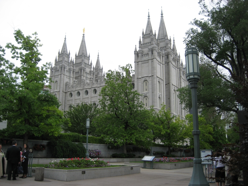 Mormon Temple Salt Lake City