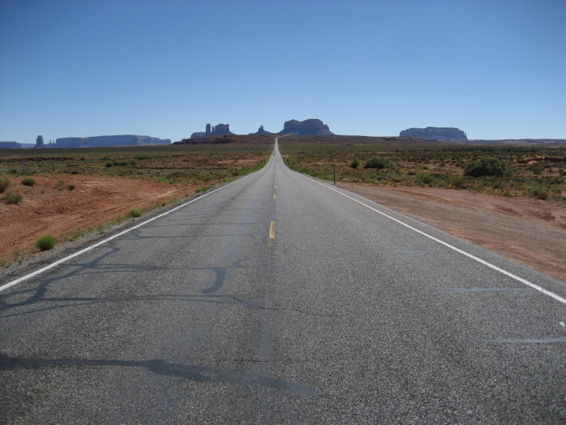 Wide Open Spaces in Monument Valley Utah